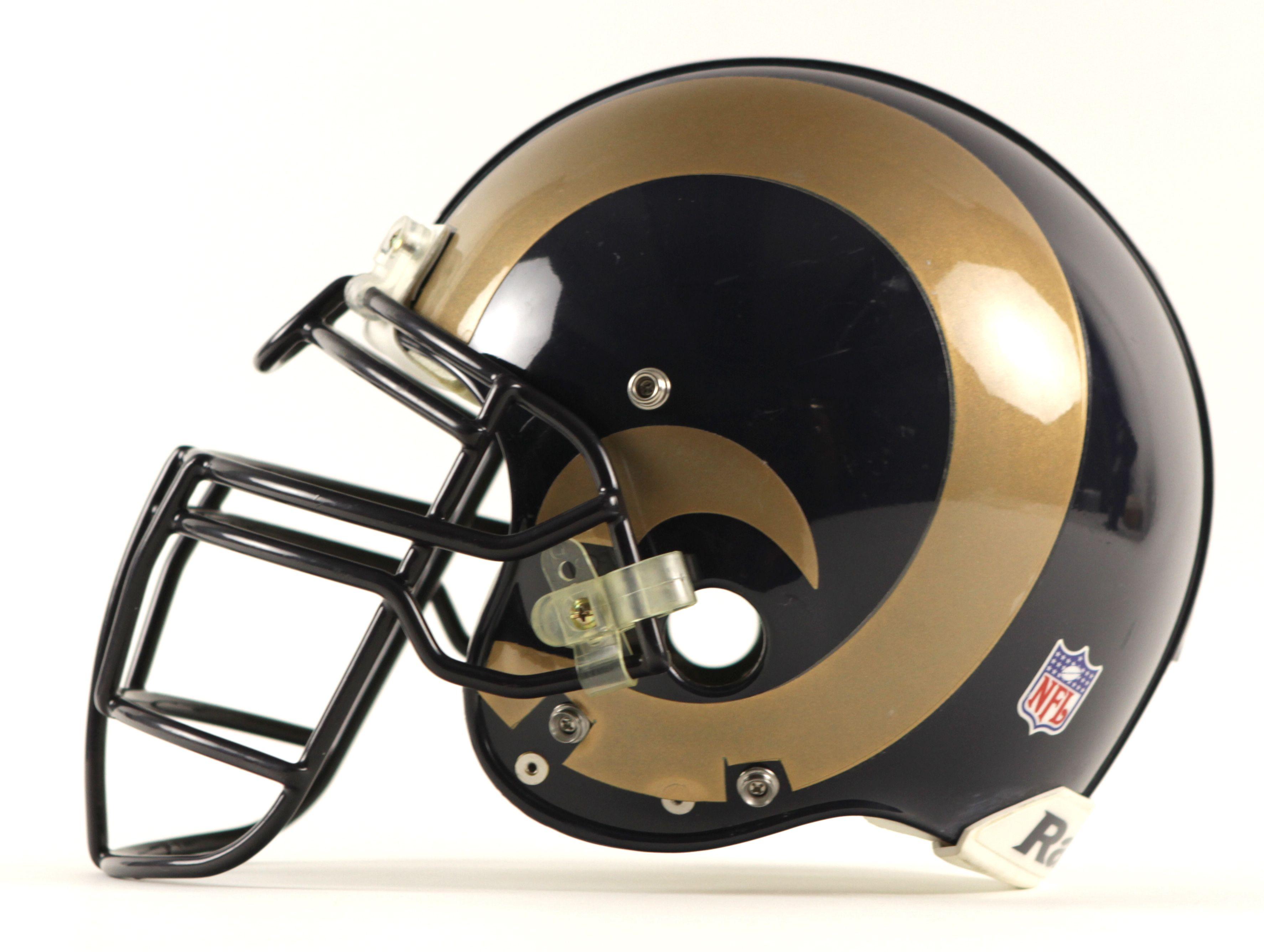 Rams Helmet Logos