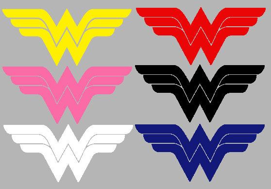 Pink Wonder Woman Logos