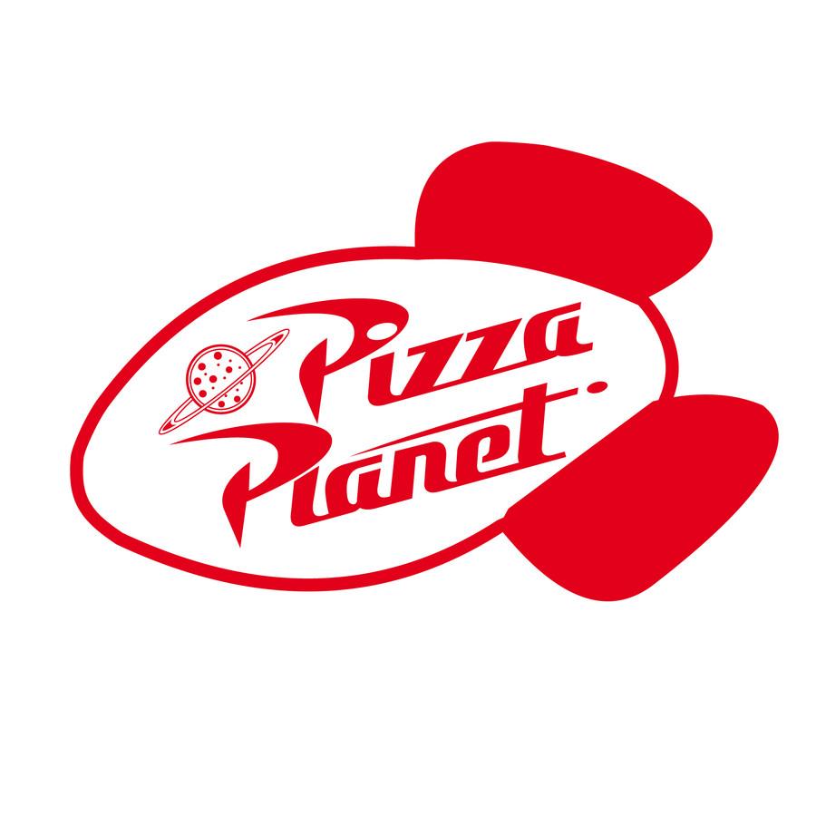Pizza Planet Logos