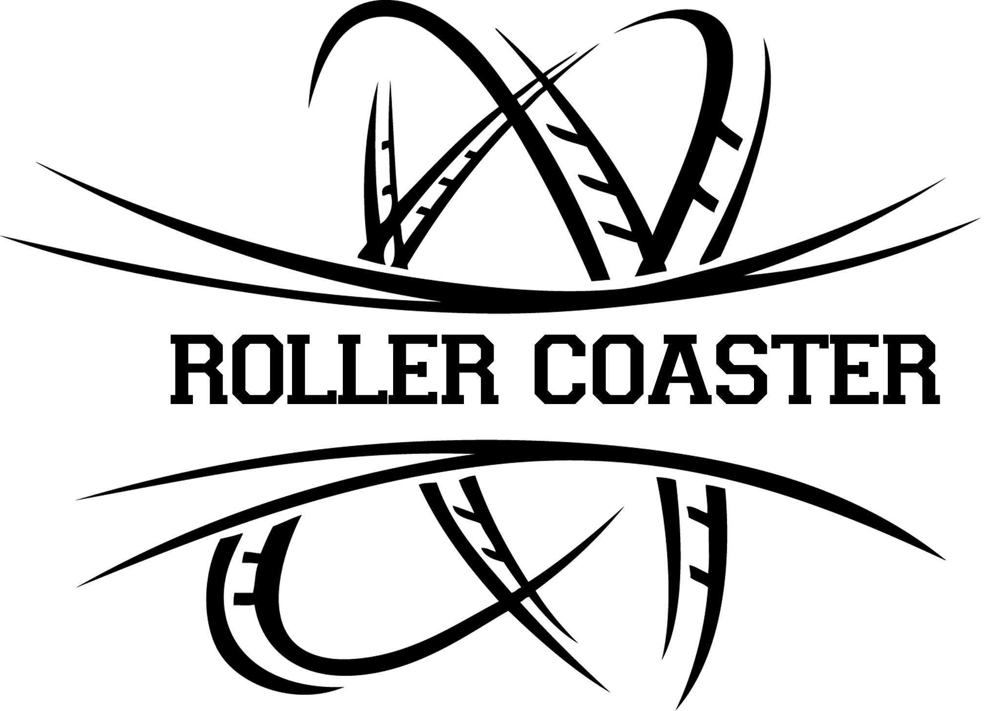 Roller coaster Logos