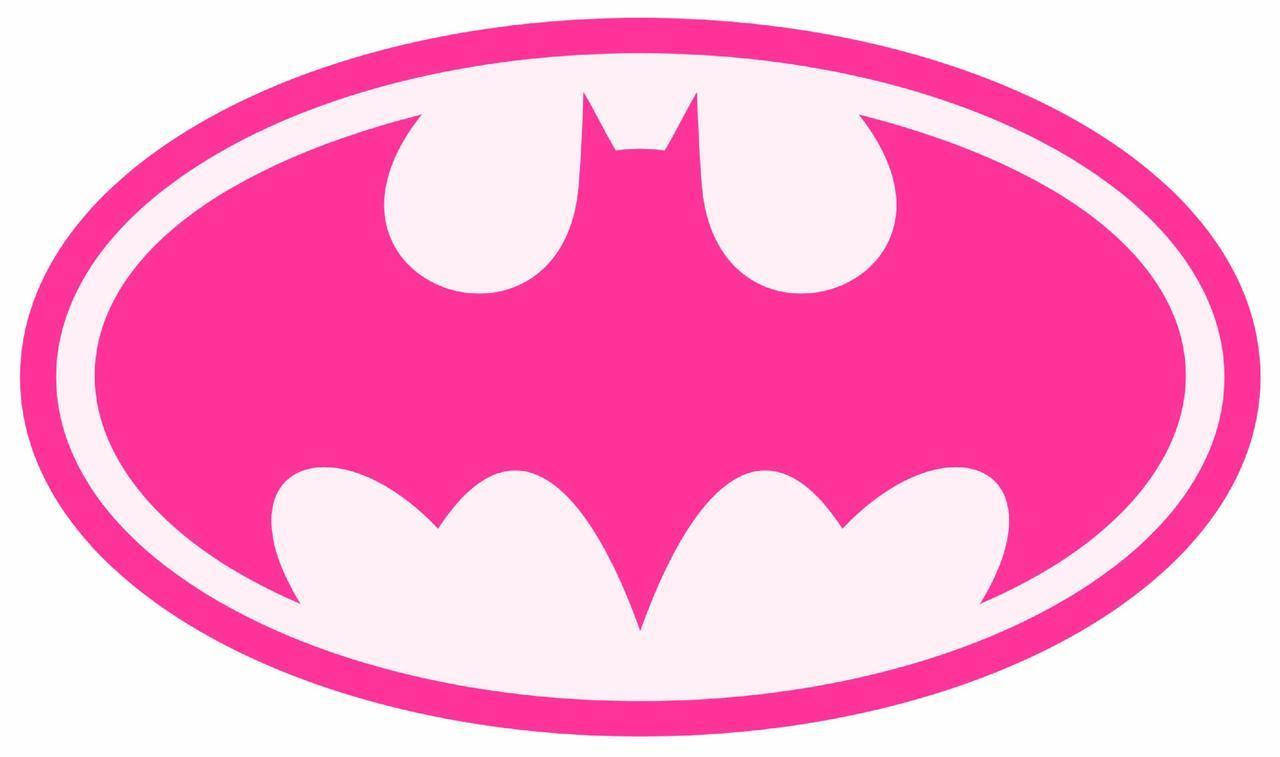 pink batman logos