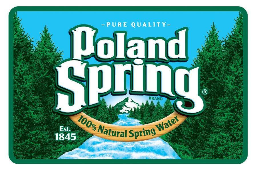 Poland spring Logos