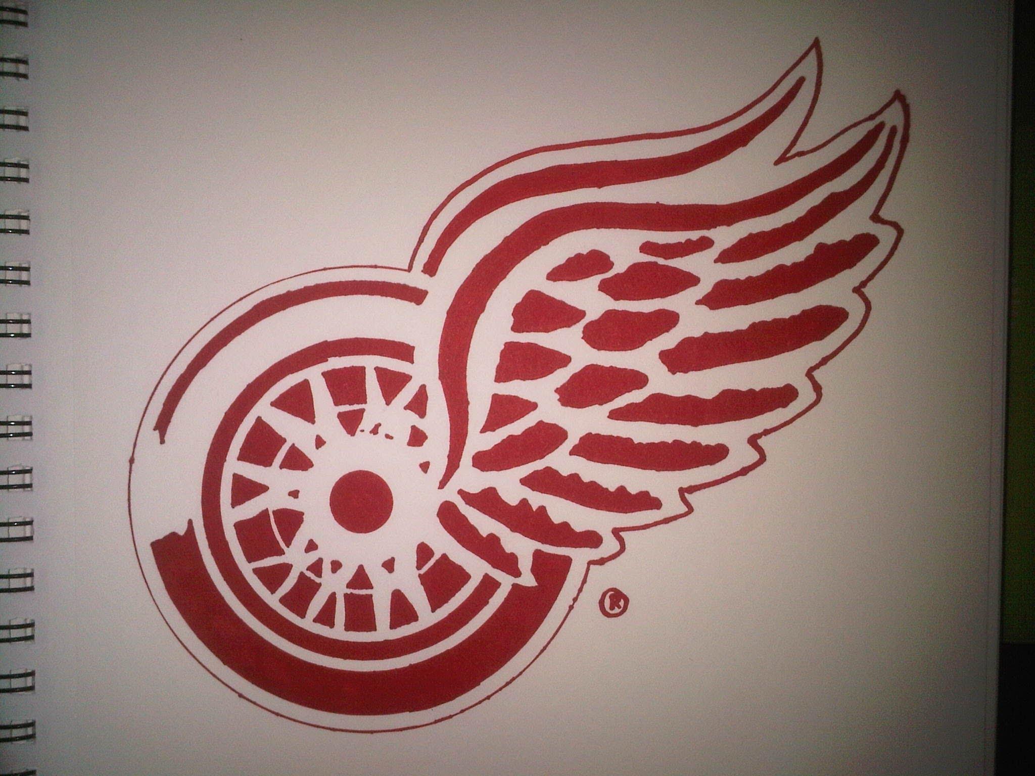 Red Wings Logos