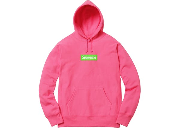 e936edfe Streetwear, Buy & Sell Top Brands on StockX. stockx.com · stockx.com.  helpful non helpful. Peach Pink Box Logo Supreme Hoodie ...