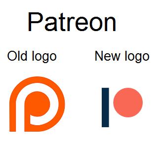 Patreon Logos