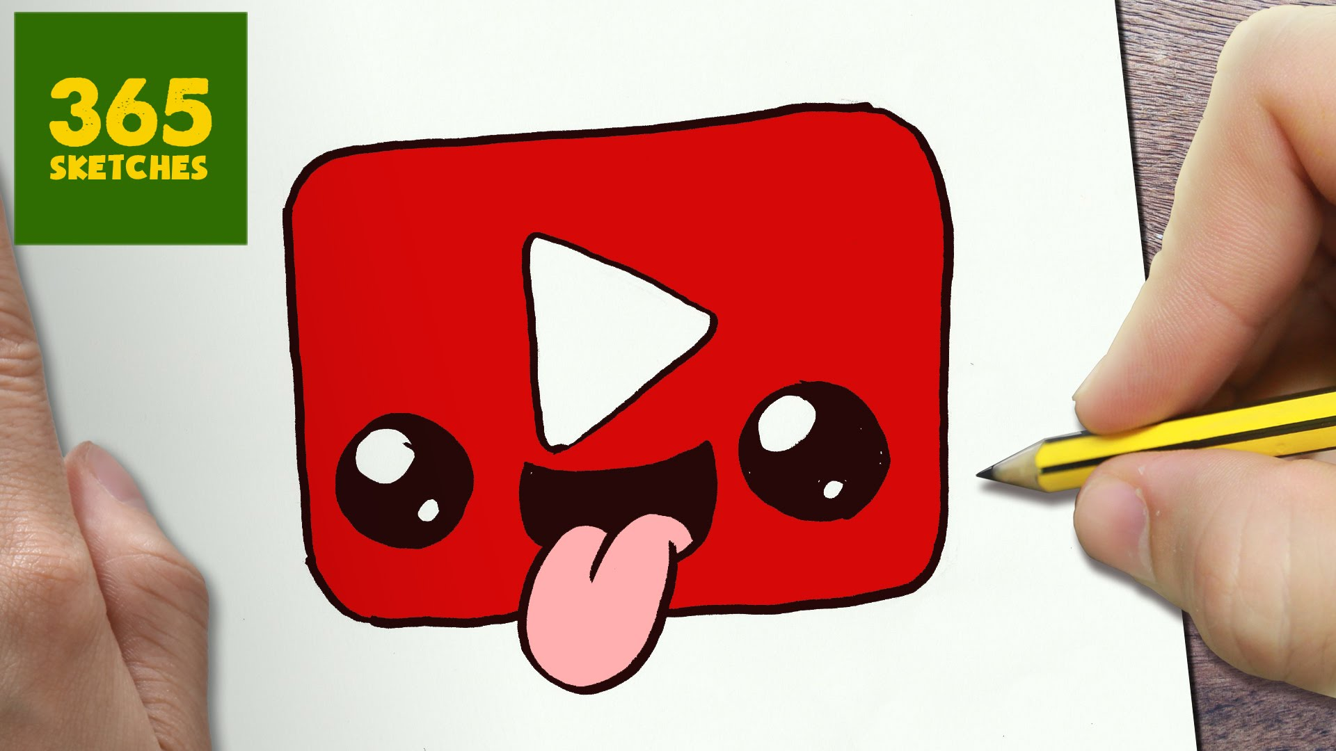 How To Draw Youtube Logos