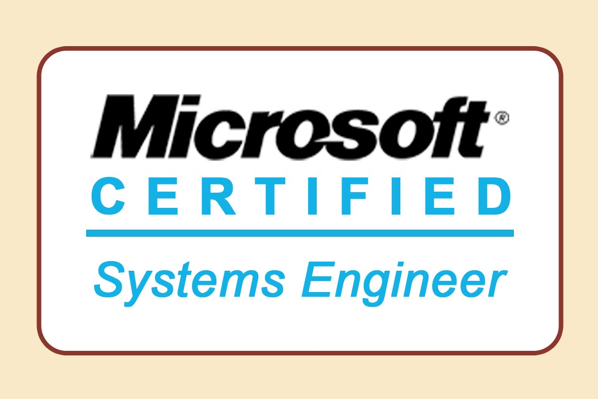 Microsoft Certified Systems Engineer Logos