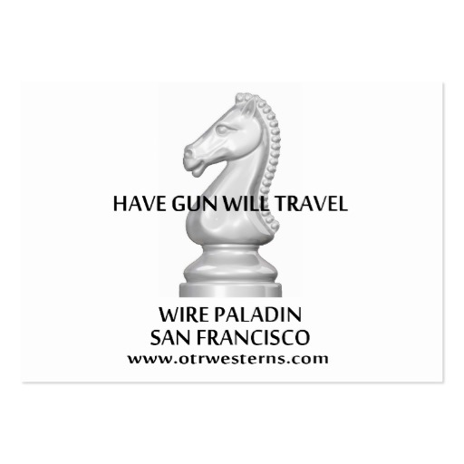 Have gun will travel logos classic hgwt bc large business cards pack of 100 zazzle colourmoves
