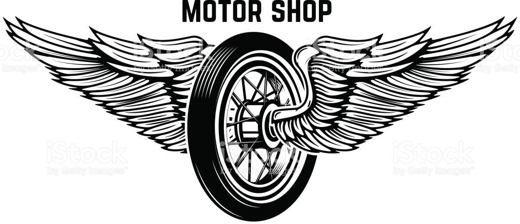 wing and wheel logos