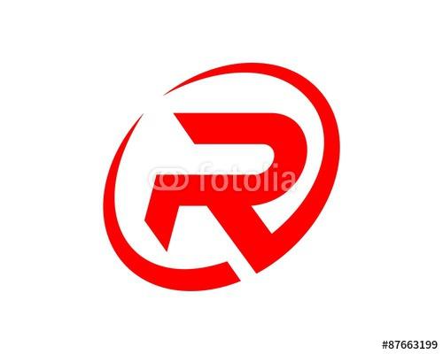 Red Circle With R Logo Red r Logos