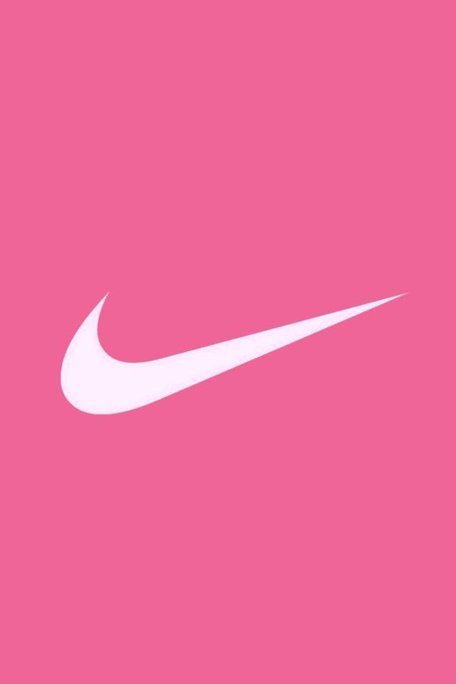 Pink Nike Logos
