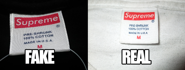 Fake Supreme Box Logos