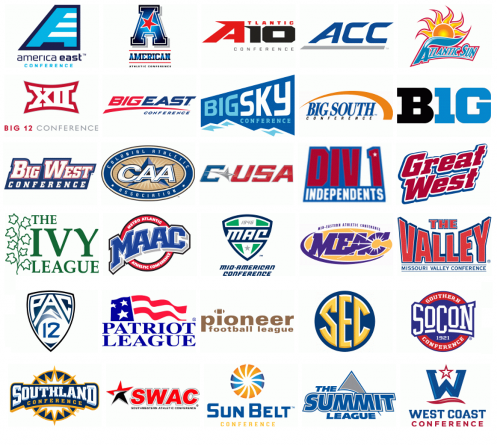 Ncaa College Footb Logos Division 1 Imgkid