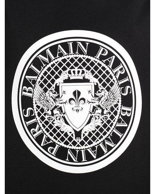 f3e6c6450f25d0 Balmain Logo Cotton Jersey Sleeveless T