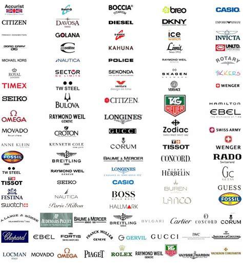 Watch brand Logos