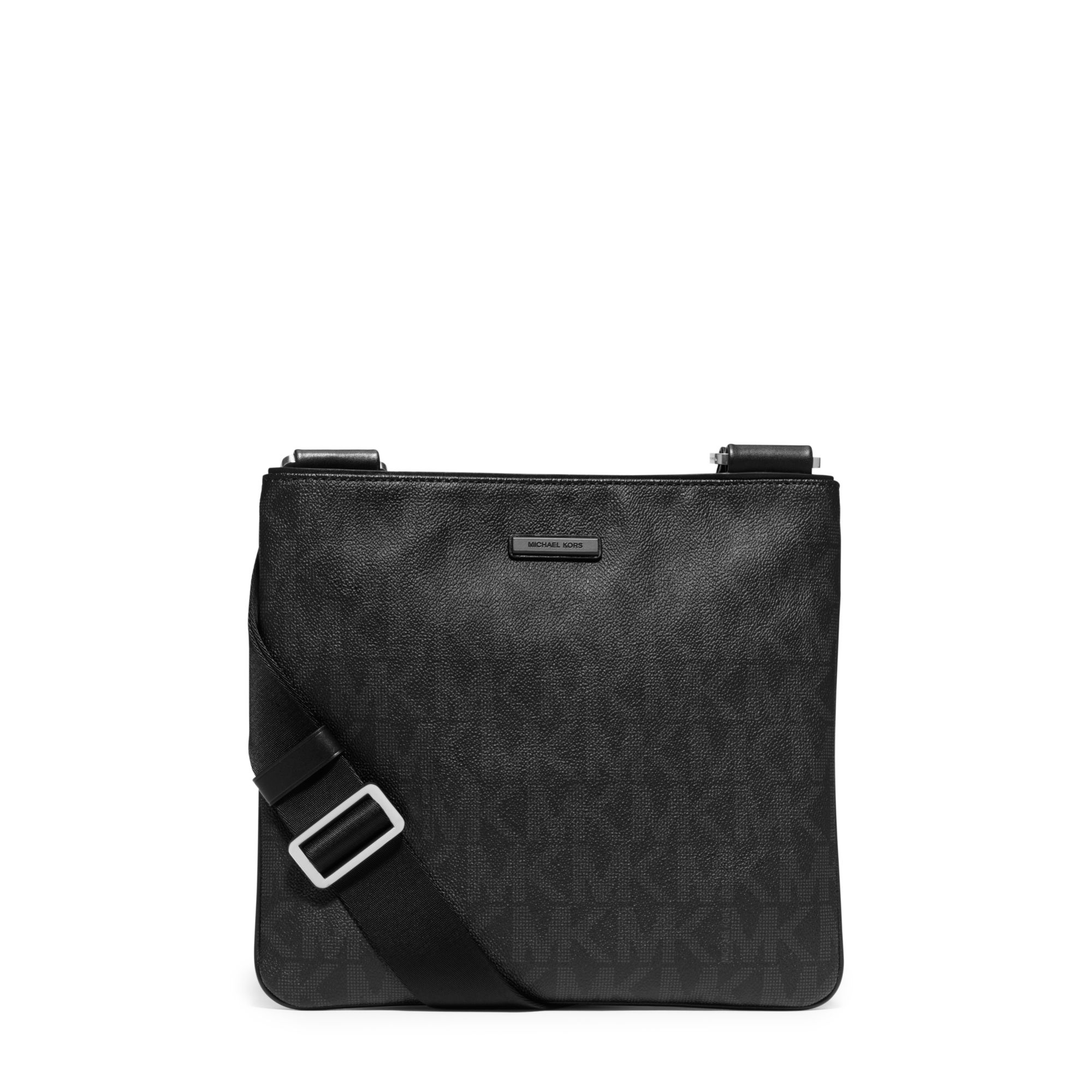 06e2f0c966bf Michael Kors Jet Set Logo Crossbody in Black for Men