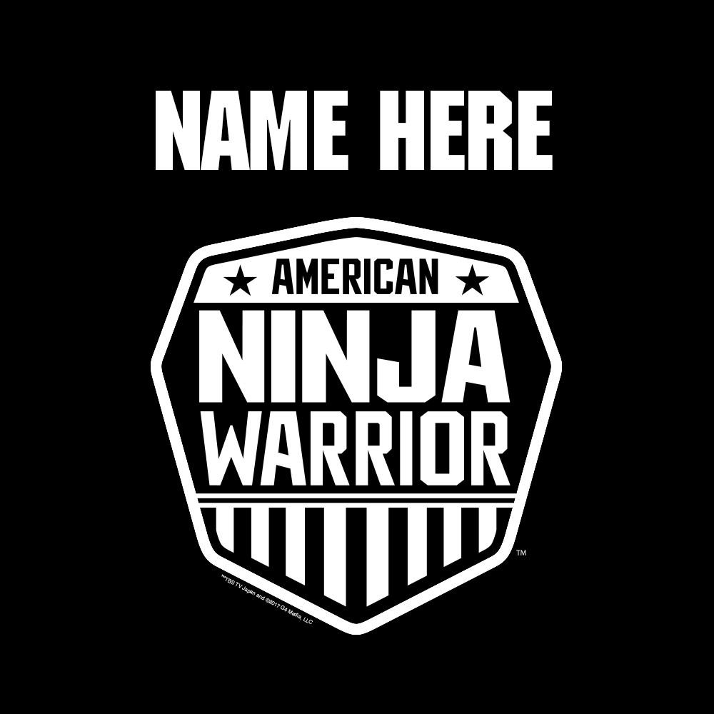 82759f794 Personalized American Ninja Warrior Men's Short Sleeve T, Shirt