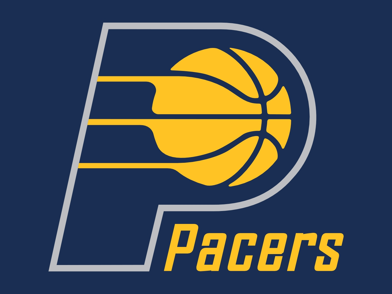 Image result for pacers logo