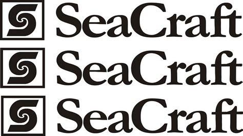 Seacraft decals logo graphics sticker decals stickers Seacraft