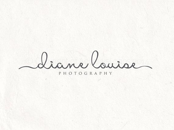photography logo design and logo watermark signature logo