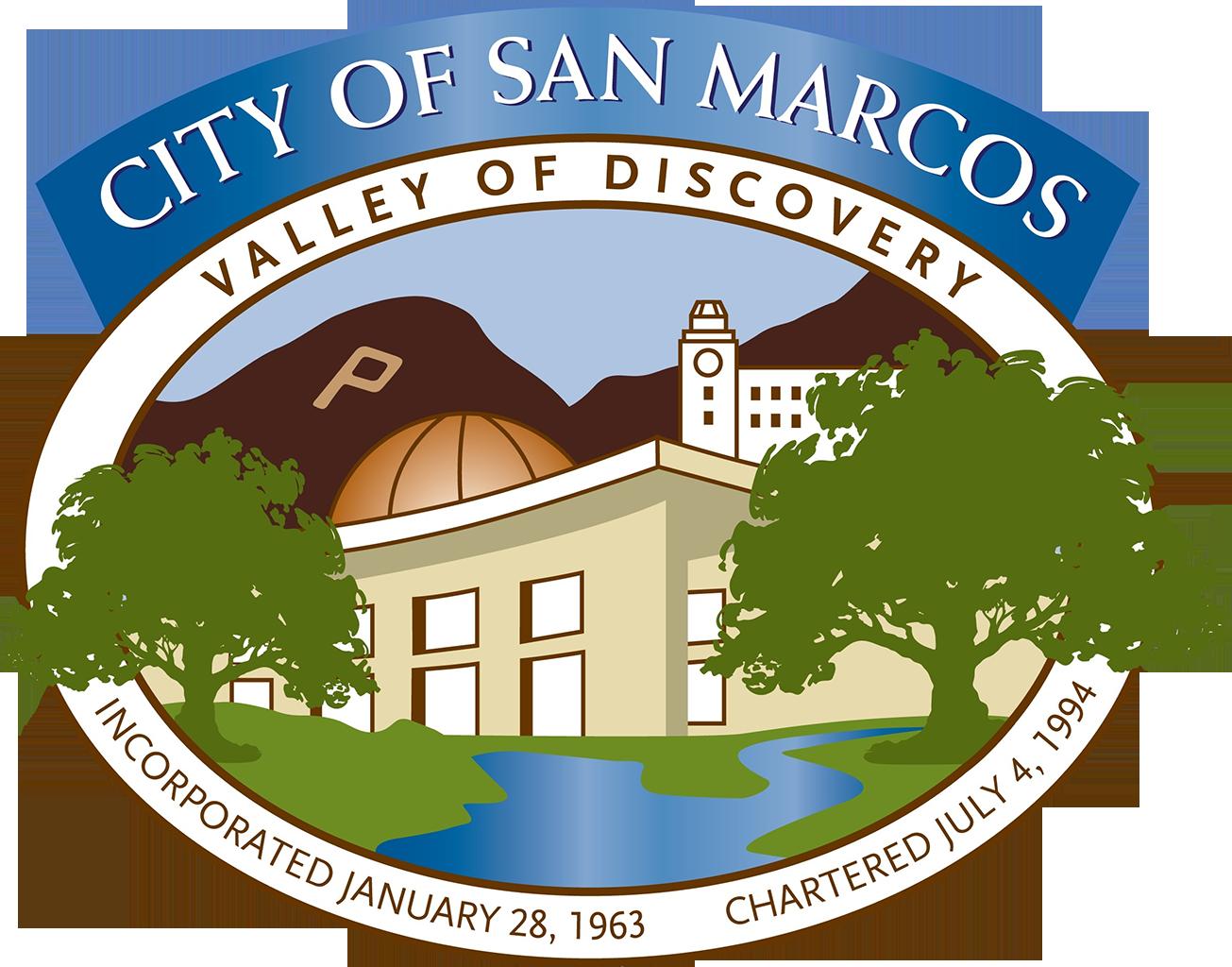 City of san marcos Logos