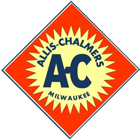 Allis Chalmers Style Logo Sticker Decal | eBay