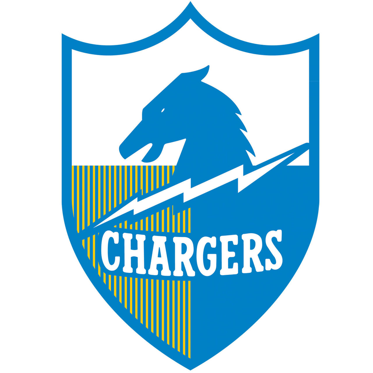 San Diego Chargers Emblem: Chargers Old Logos
