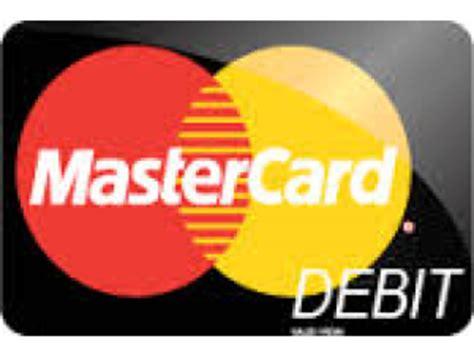 Mastercard debit Logos