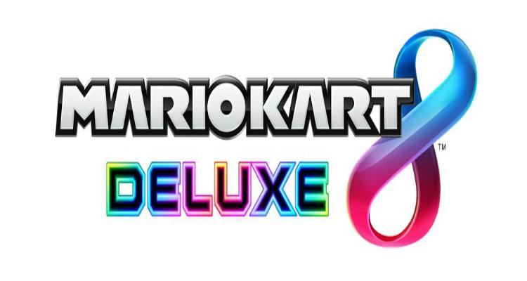 Mario Kart 8 Deluxe Logos
