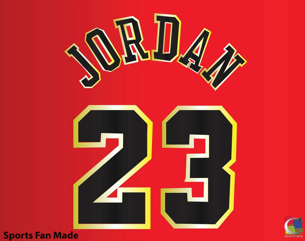 Michael Jordan Number 23 Logo