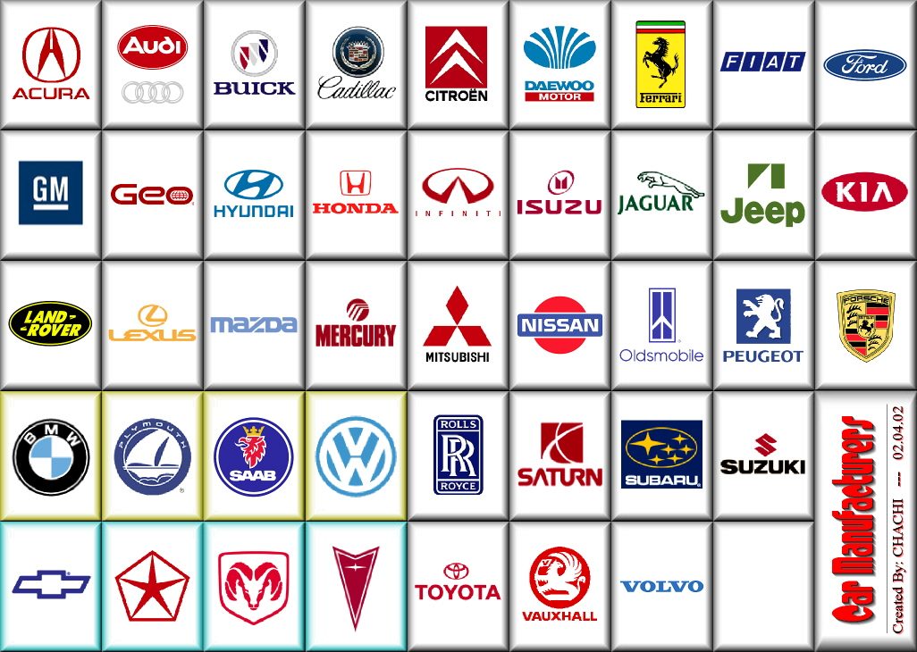 Car Logo Names Az British Automotive