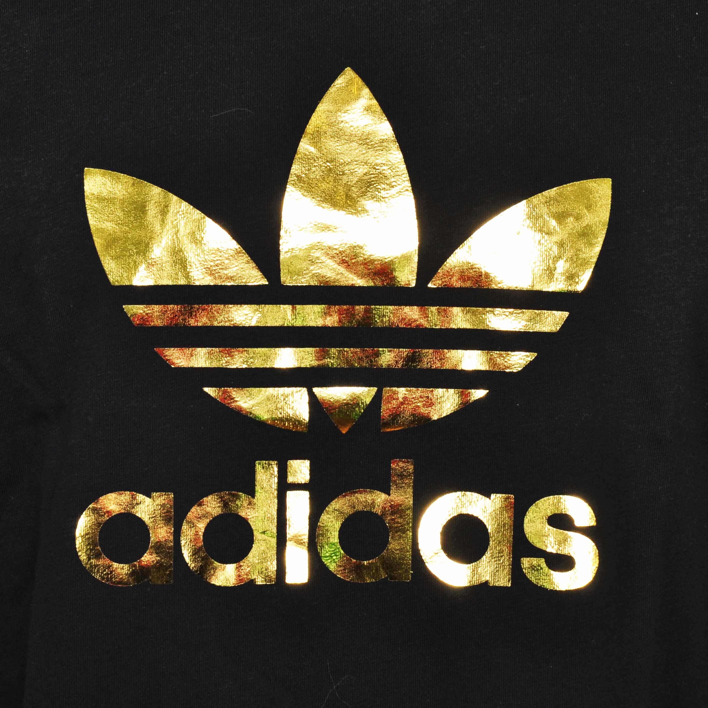 adidas gold logos