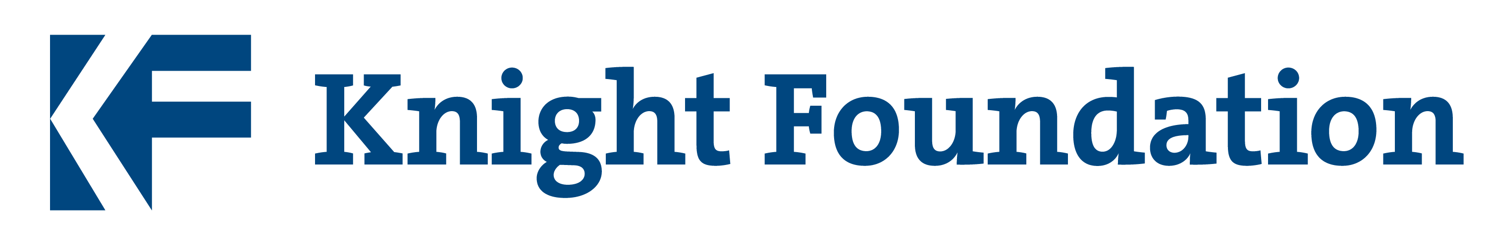 Image result for knight foundation logo