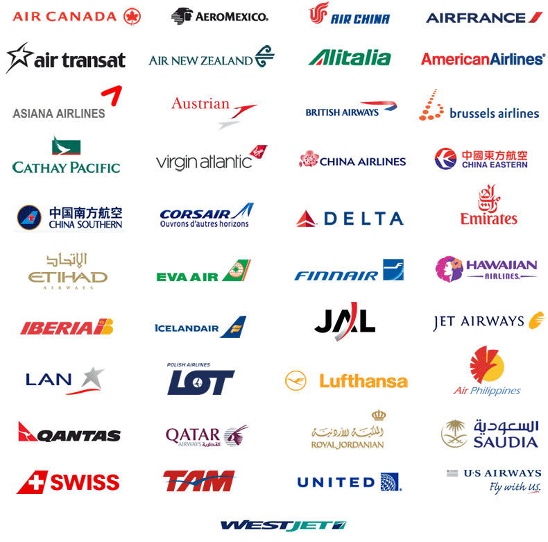 Important Airline Logos