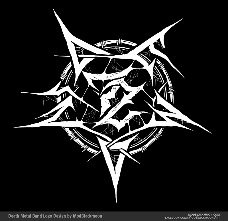 Death Metal Logos