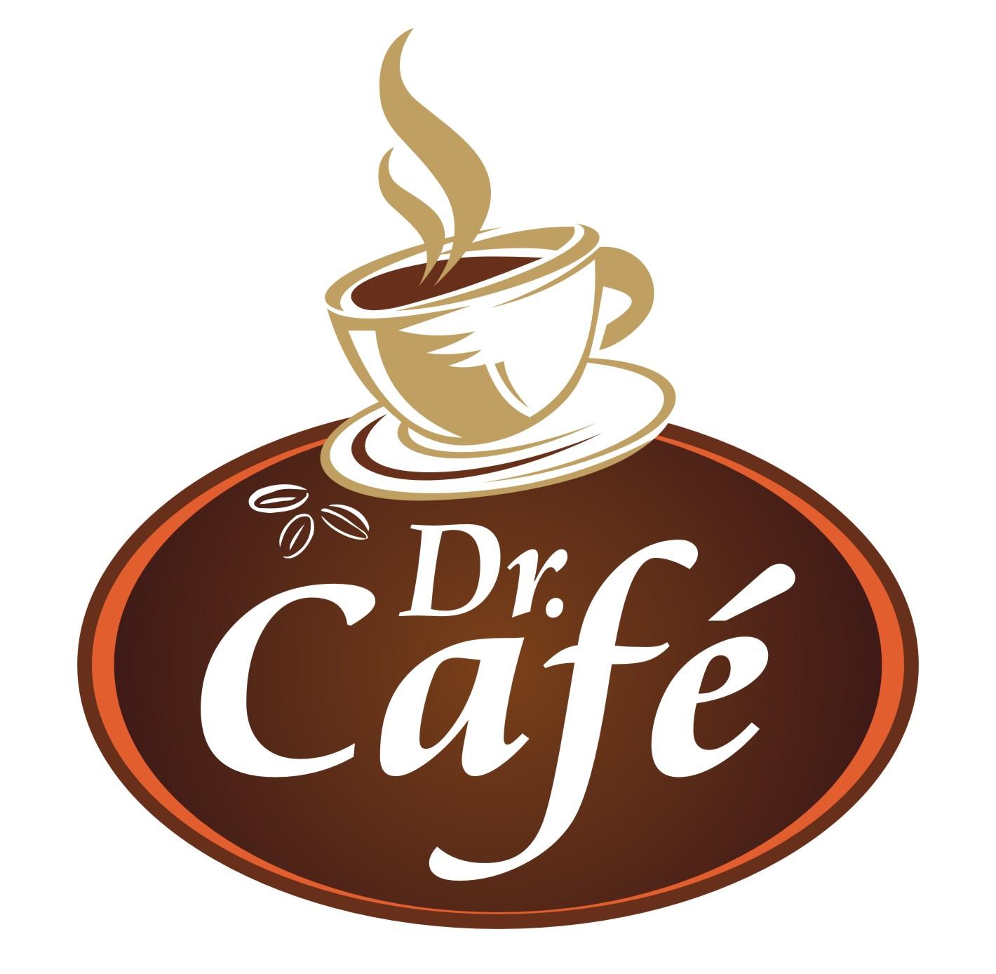 Cake Coffee Design Logo