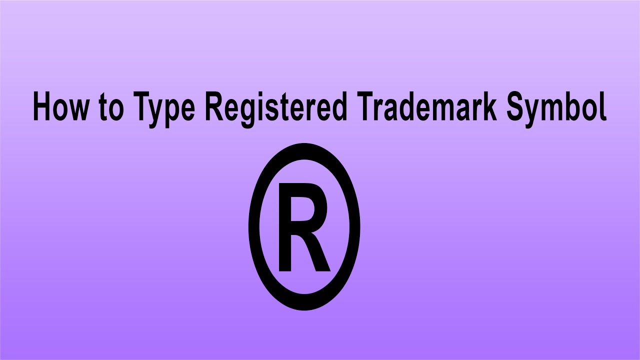 How To Trademark A Logos