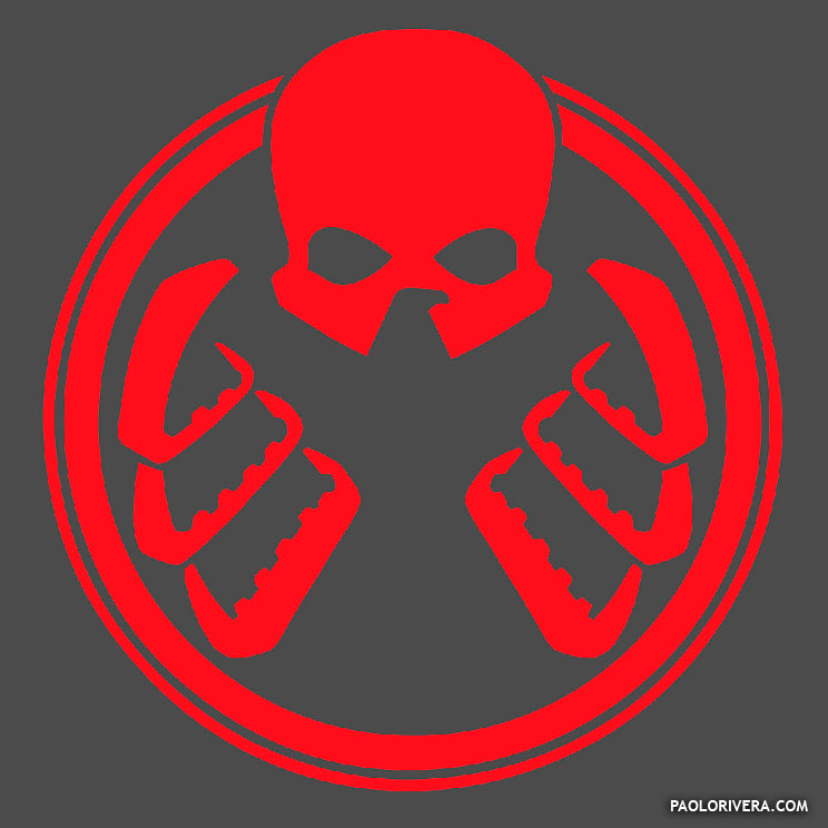 Agents Of Shield Hydra Logos