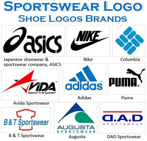 Athletic shoe brand Logos