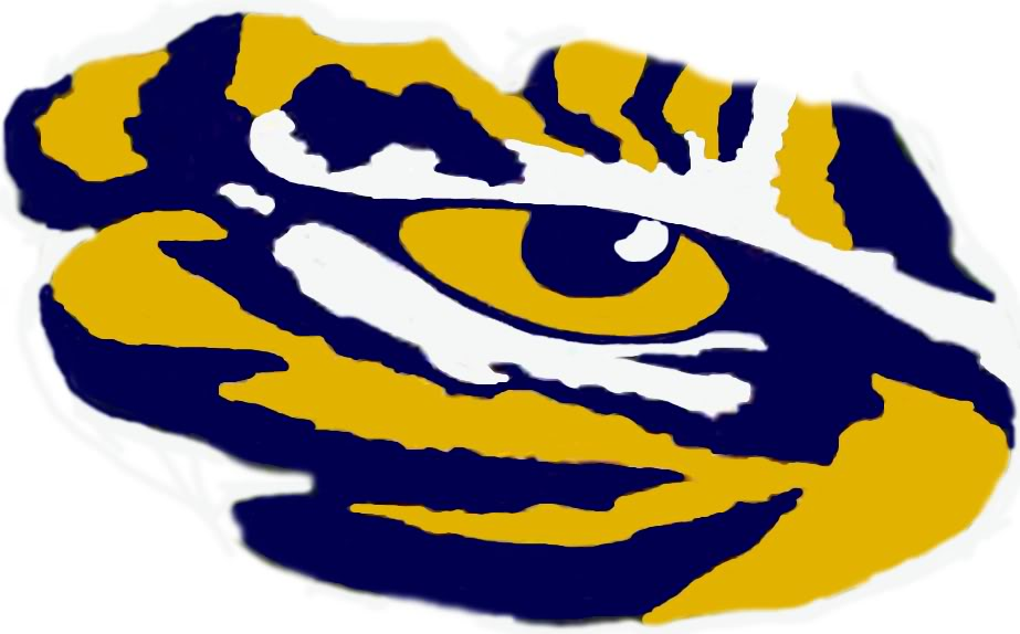 Lsu Tiger Eye Logos