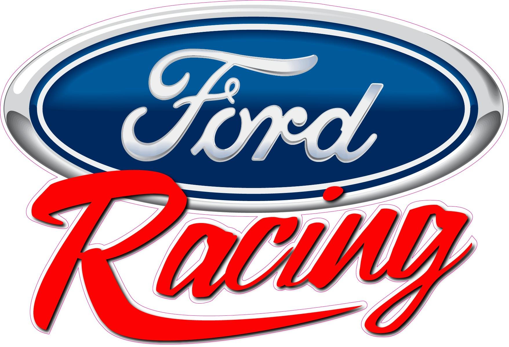 Ford racing logos