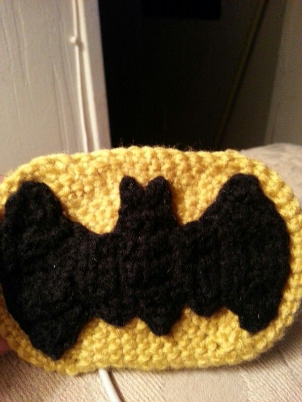 Crochet Batman Logos