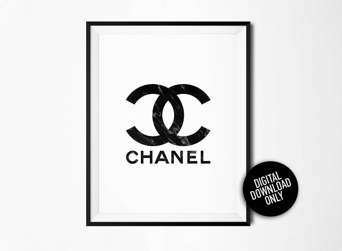 Printable Chanel Logos