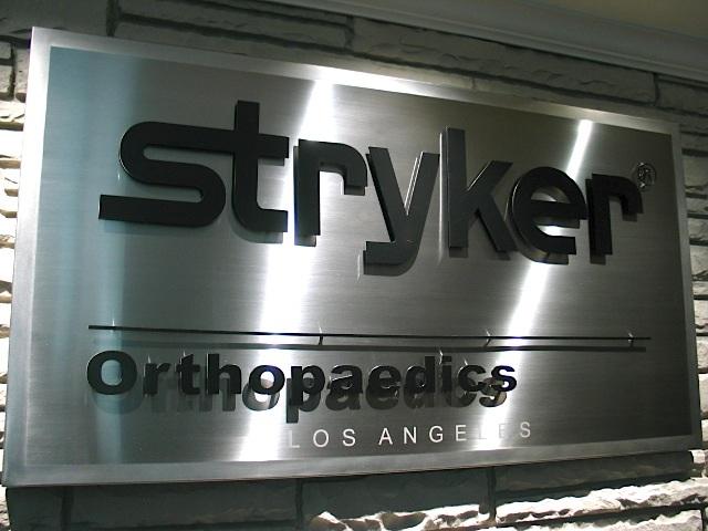 custom stainless steel logos