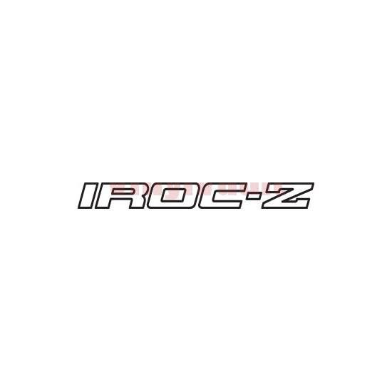 iroc z logos