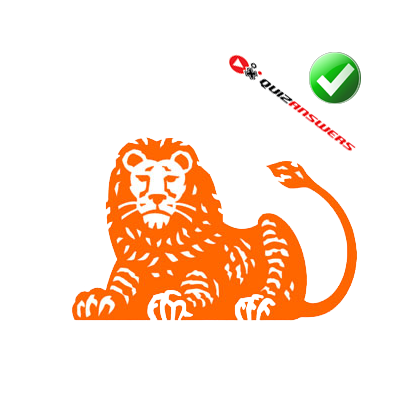 Orange lion Logos