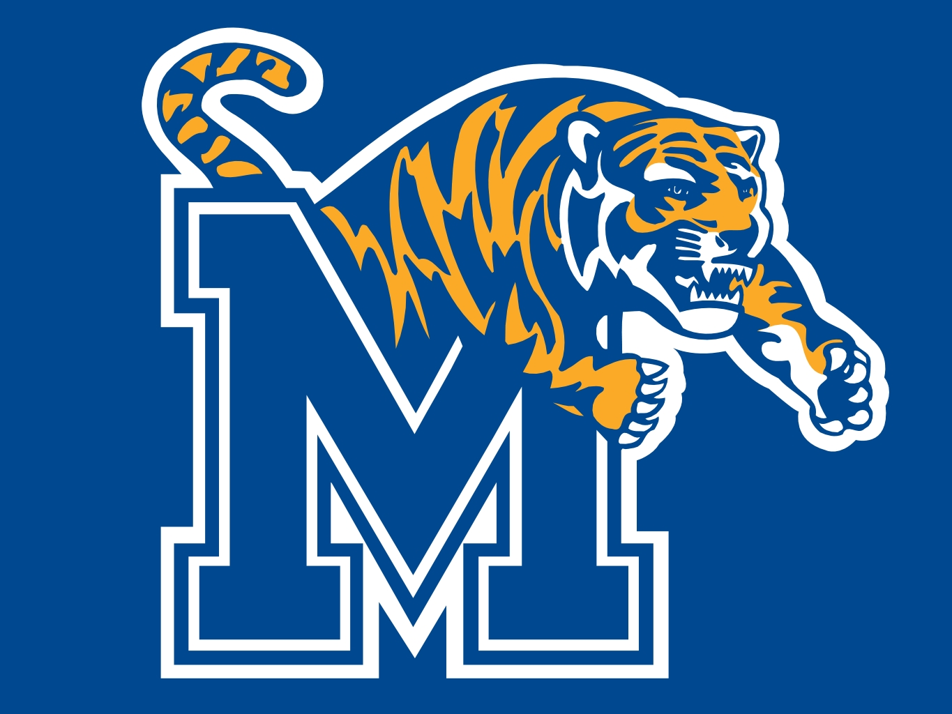 Image result for memphis tigers logo