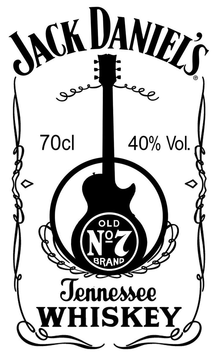 jack daniels logo template