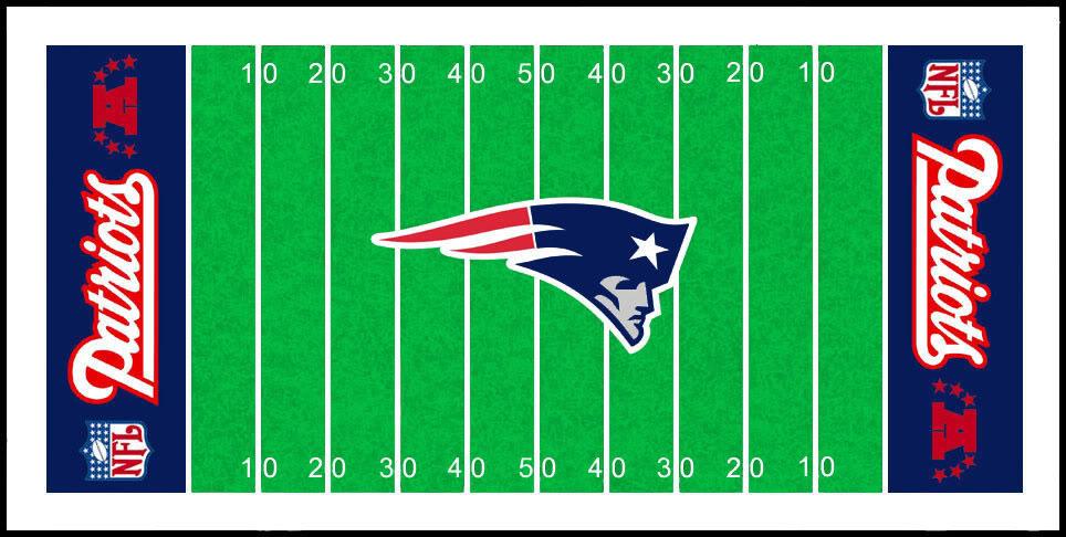 New England Patriots Field Logos