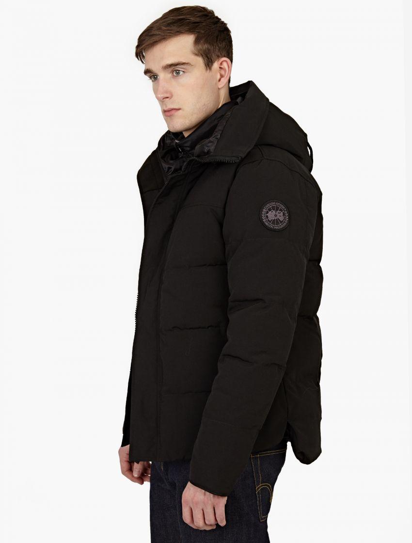 Canada goose  macmillan  Black Label Parka in Black for . 3ccead30e1e04